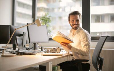 complete guide to vat for e-commerce - man at desk
